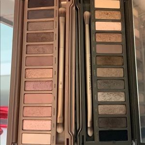 Naked 2 and naked 3 palette